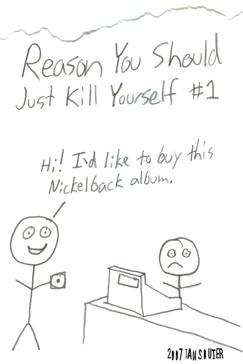 buying a nickelback album